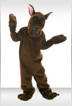 Mystery Dog Mascot Costume
