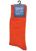 Men's Orange Socks