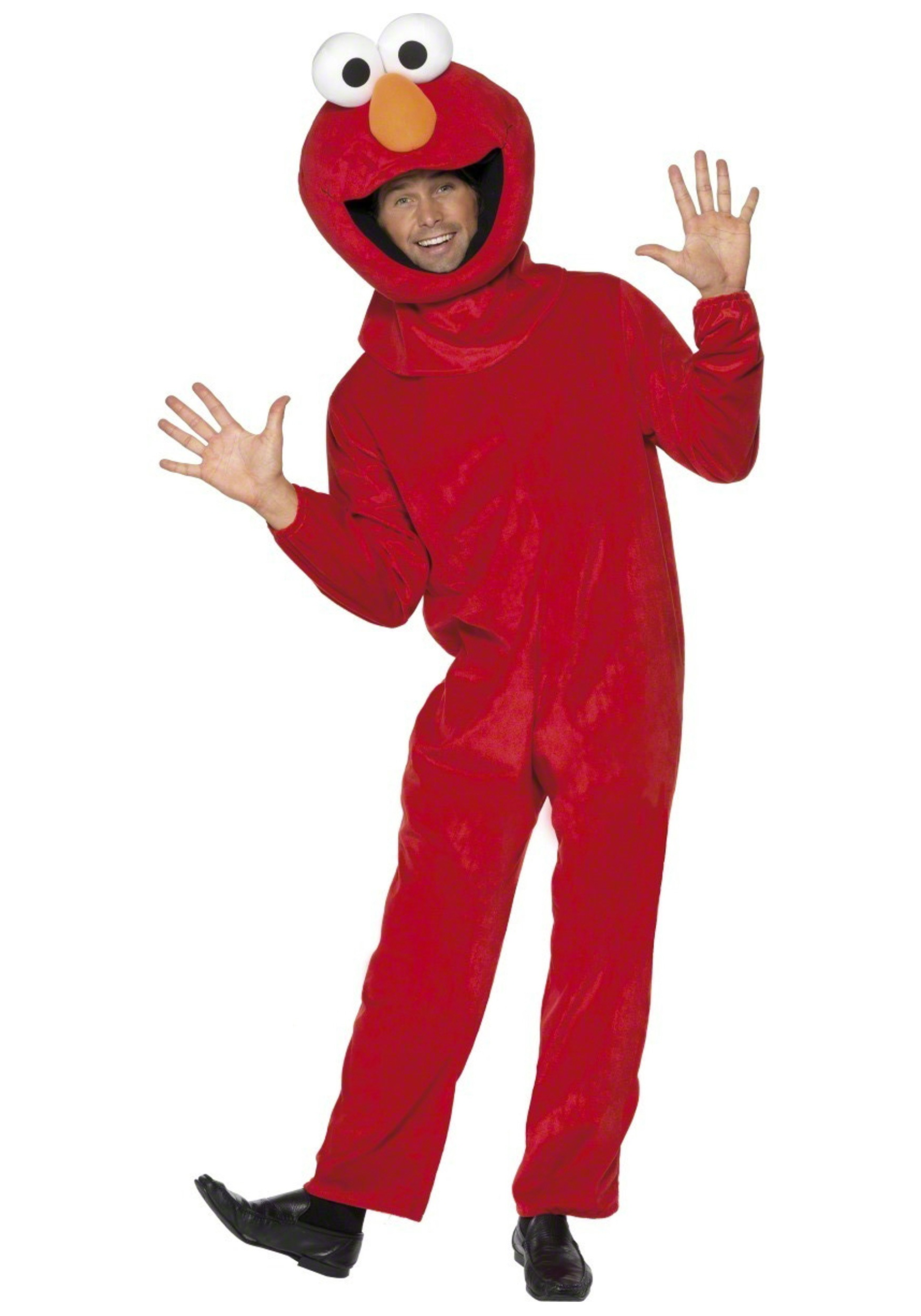Plush Elmo Costume Licensed Sesame Street Costumes