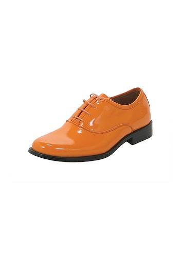 Orange Dress Shoes