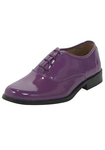 Purple Dress Shoes