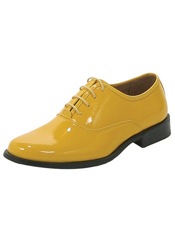 Yellow Dress Shoes
