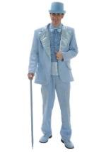 Baby Blue Tuxedo Costume