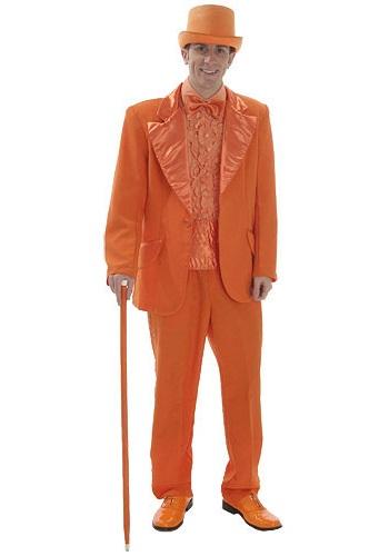 Orange Tuxedo Costume
