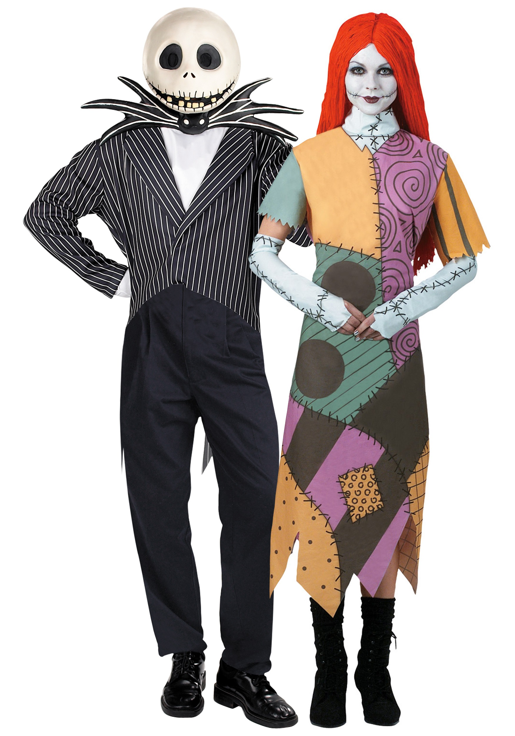 nightmare before christmas couple costume - Nightmare Before Christmas Halloween Costume