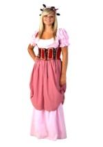 Rose Renaissance Maiden Costume