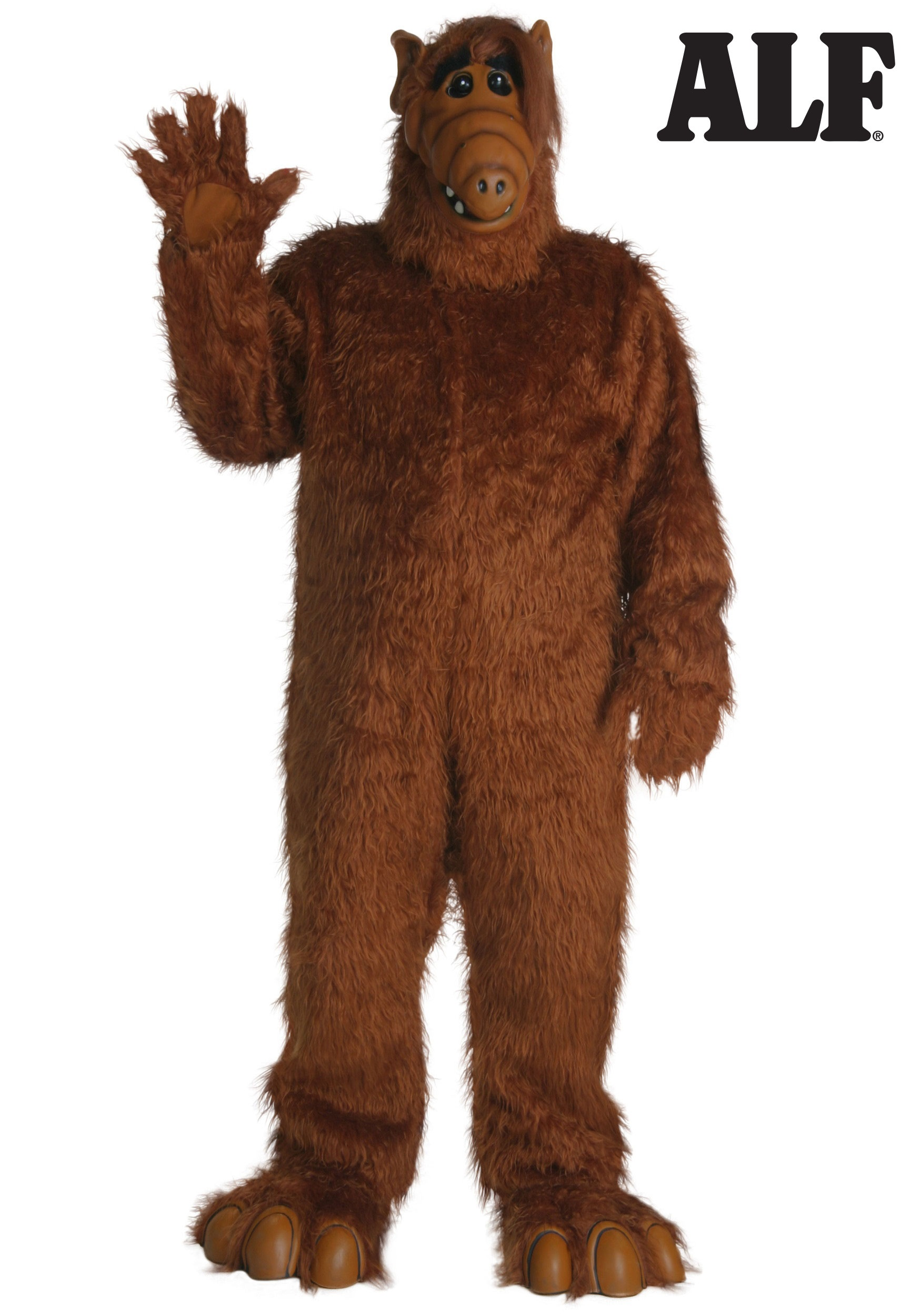 Alf Costume Alf Halloween Costumes For Adults