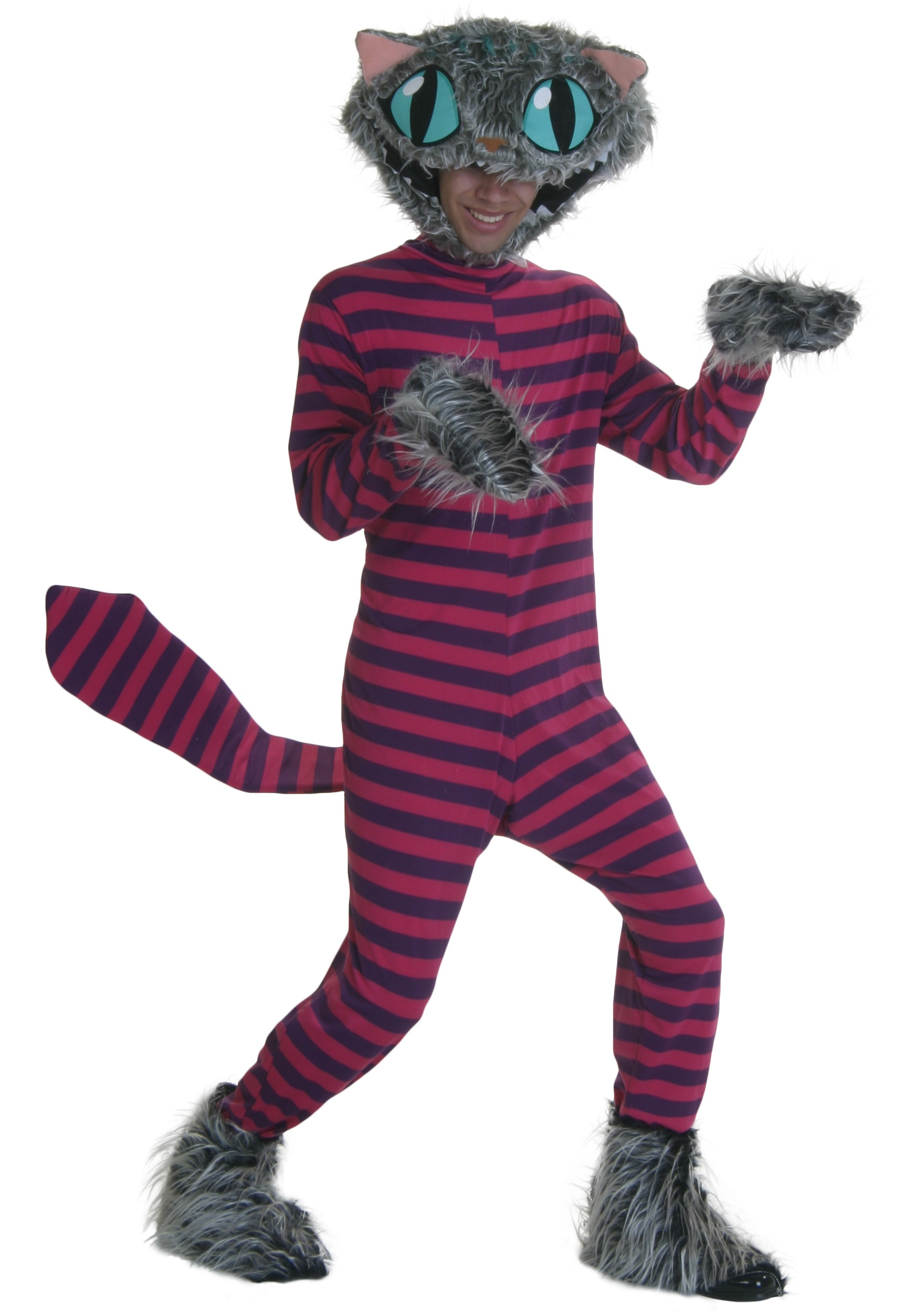 Child Deluxe Cheshire Cat Costume Unique Cheshire Cat Costume