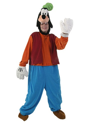 Adult Goofy Costume  sc 1 st  Costumes Galore & Adult Goofy Costume - Goofy Halloween Costumes for Rent