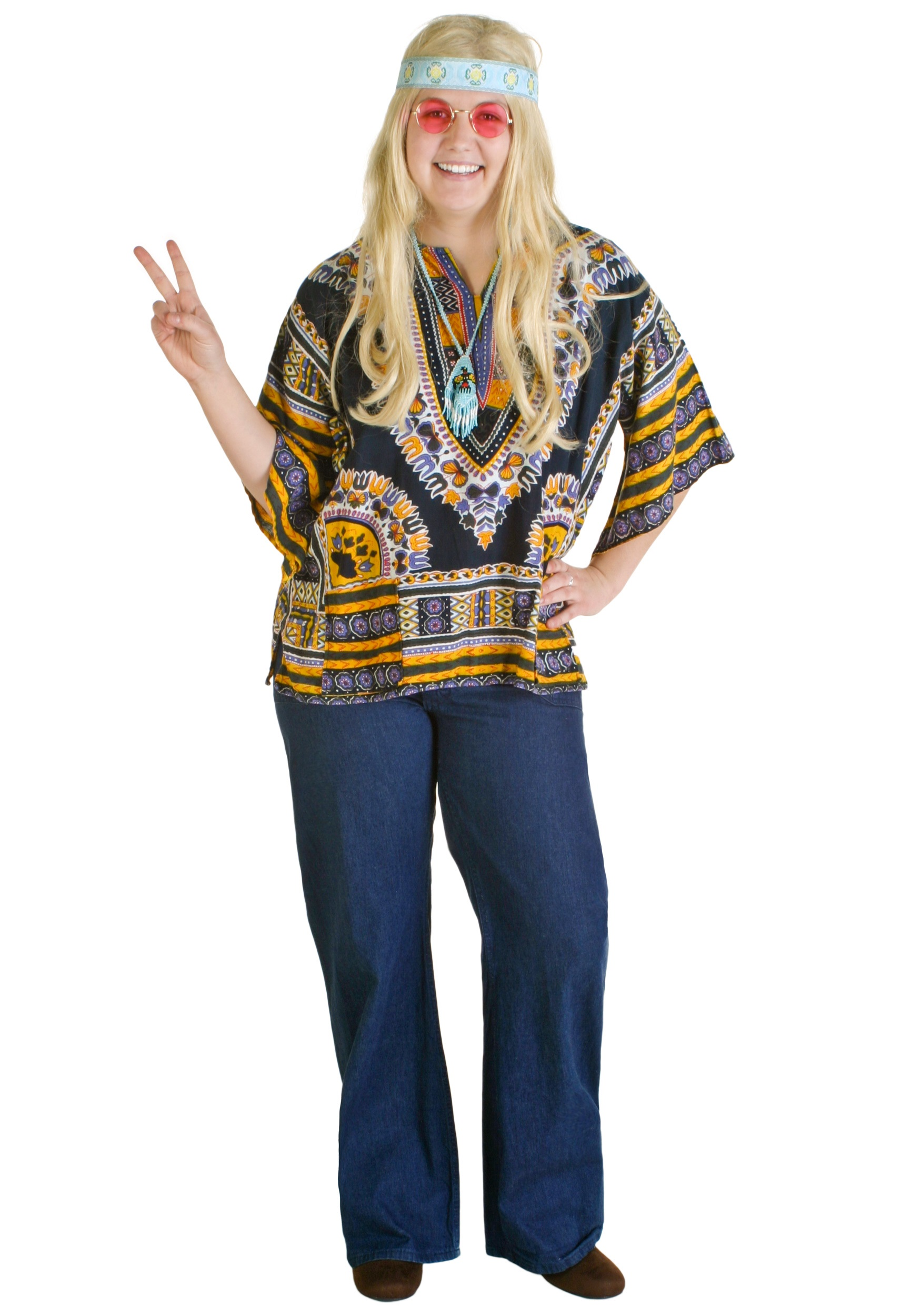 60s Hippie Girl Costume  sc 1 st  Costumes Galore & 60s Hippie Girl Costume - 1970s Halloween Costumes