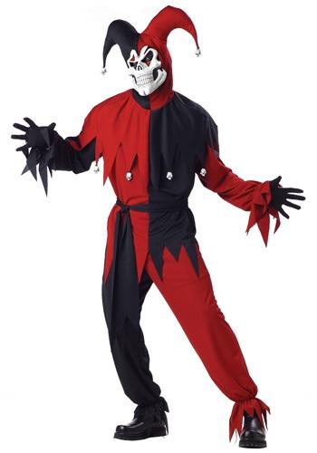 Evil Jester Costume Rental