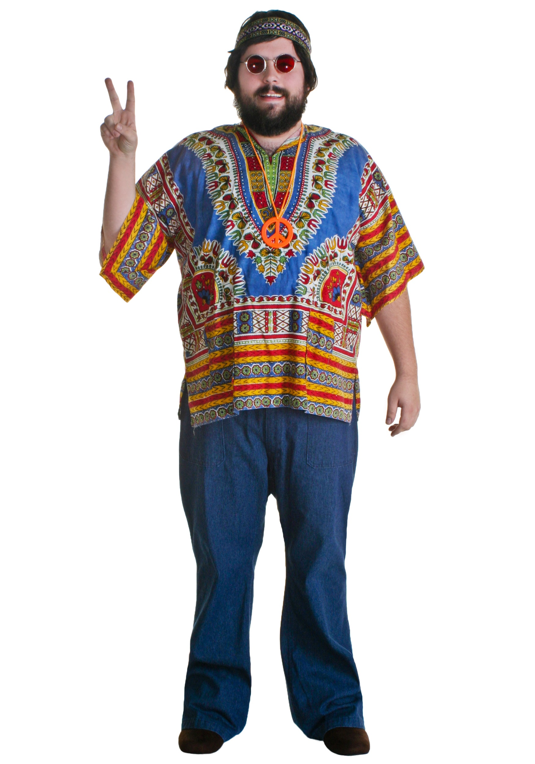 Christmas gown ideas 70s halloween - 60s Hippie Guy Costume