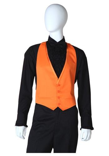 Orange Tuxedo Vest