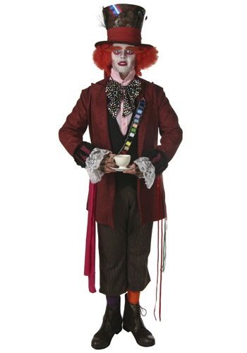 Movie Style Mad Hatter Costume