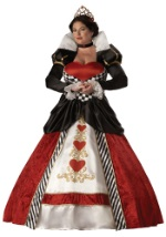 Plus Size Deluxe Queen of Hearts Costume