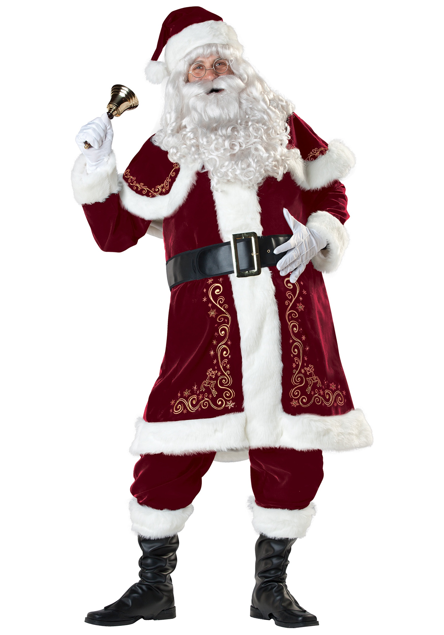 Unique santa claus costume adult costumes