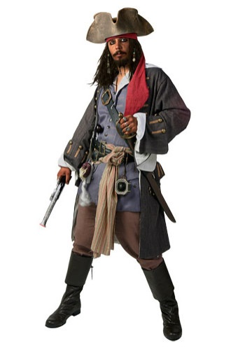 Authentic Caribbean Pirate Costume Rental