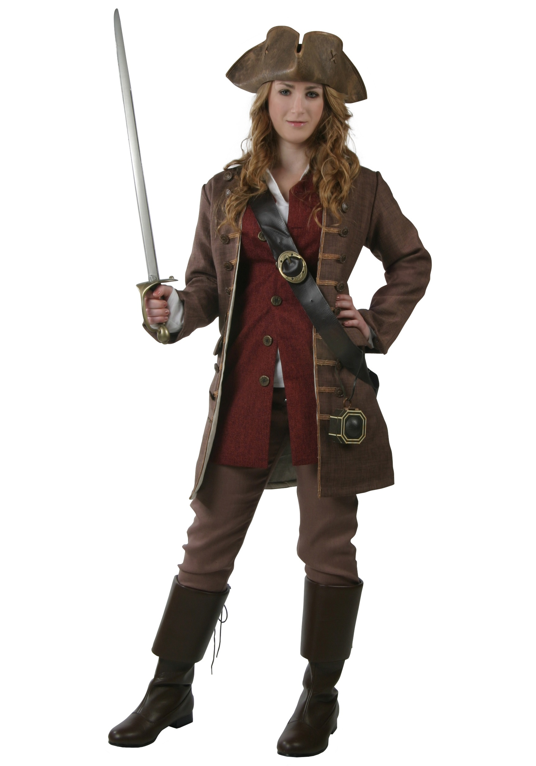 Womens Authentic Pirate Costume Elizabeth Swann Costumes