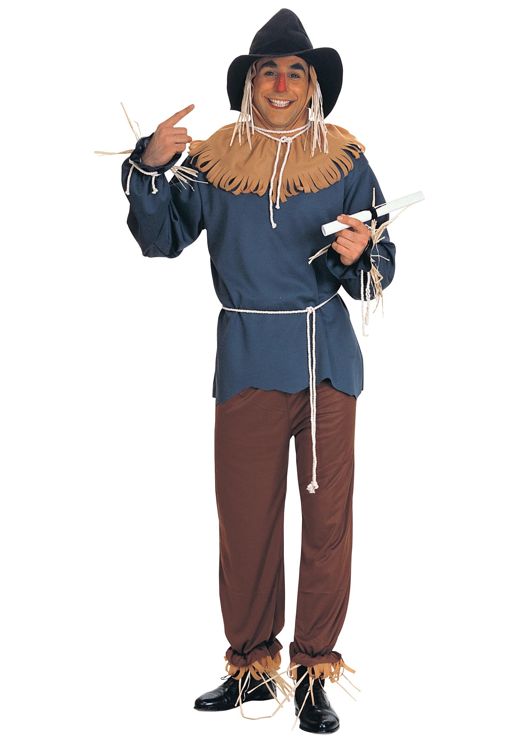 Men's Scarecrow Costume - Adult Wizard of Oz Halloween Costume