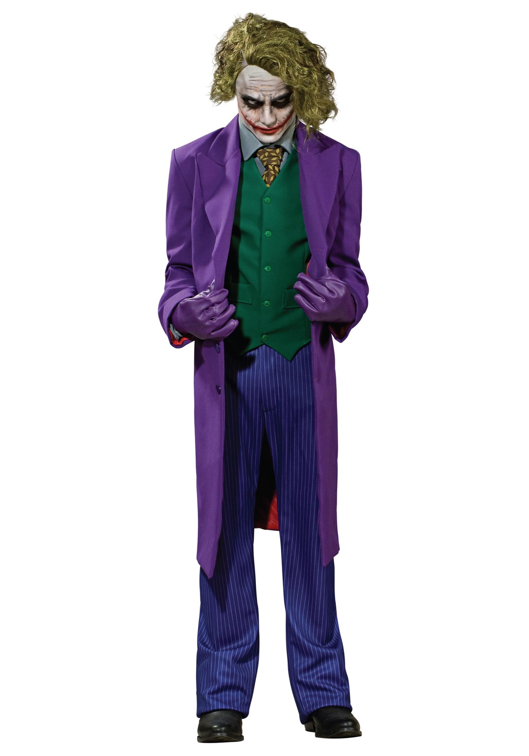 authentic joker costume dark knight joker costumes