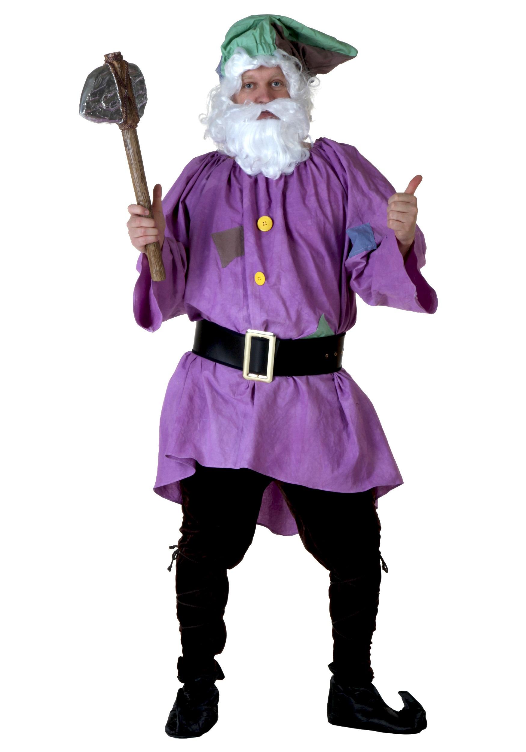 Adult costume dwarf seven
