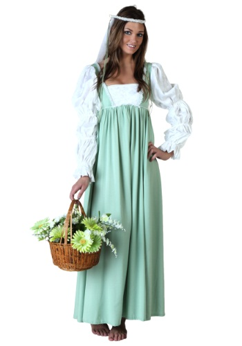 Womens Renaissance Fair Gown
