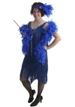 Adult Blue Flapper Costume