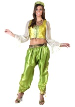 Adult Gold and Green Genie Costume