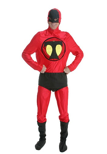 Adult Red Super Hero Costume