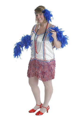 Plus Size 4th of July Costume
