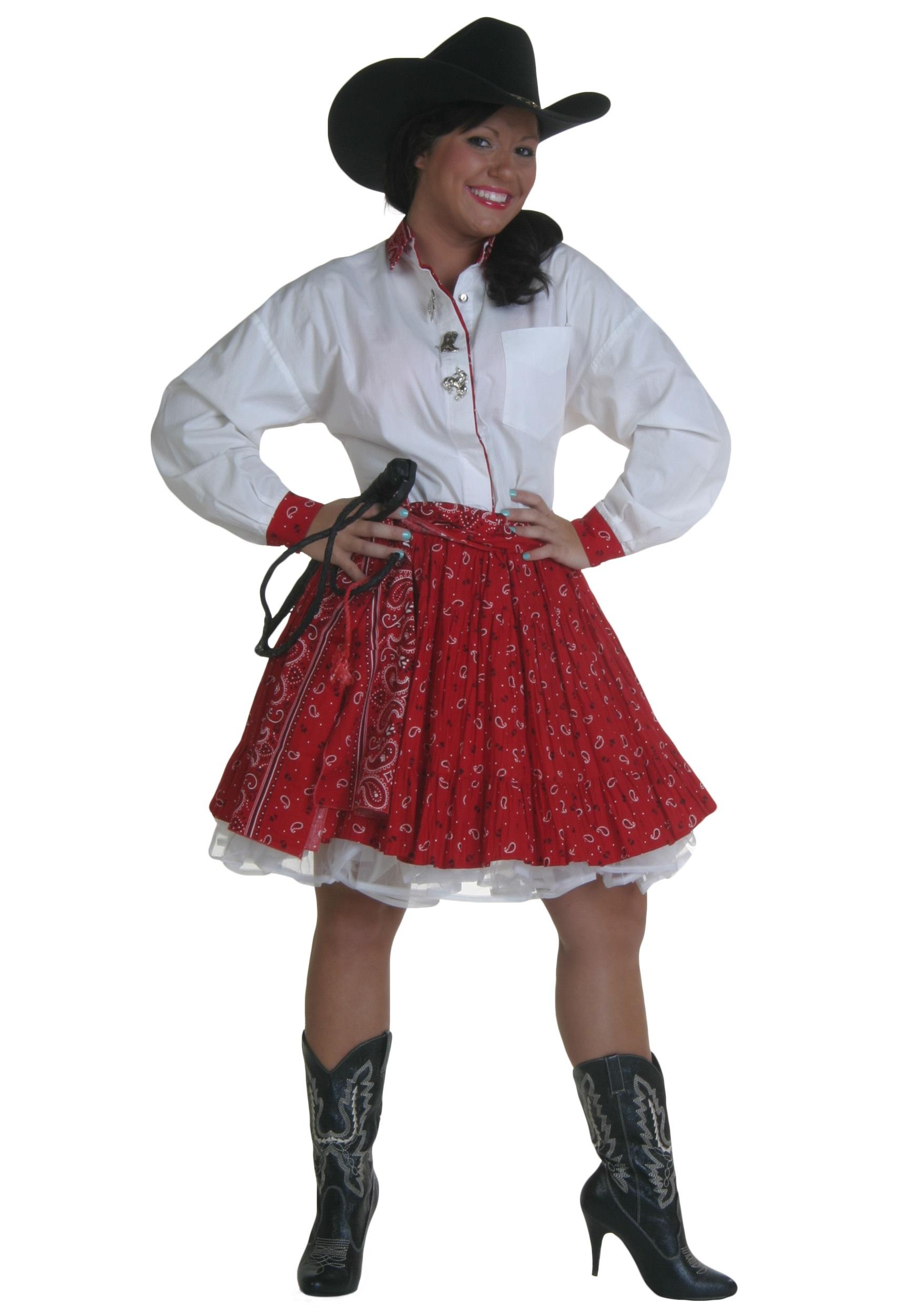 Womens Cowgirl Costume...