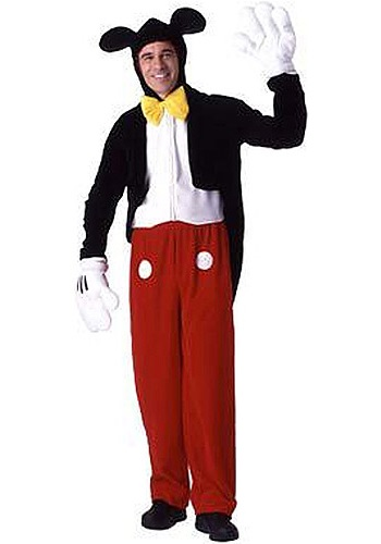 Adult Mickey Mouse Costume  sc 1 st  Costumes Galore & Adult Mickey Mouse Costume - Classic Disney Costumes