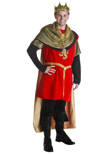 Red Regal King Costume