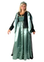 Sage Green Renaissance Gown