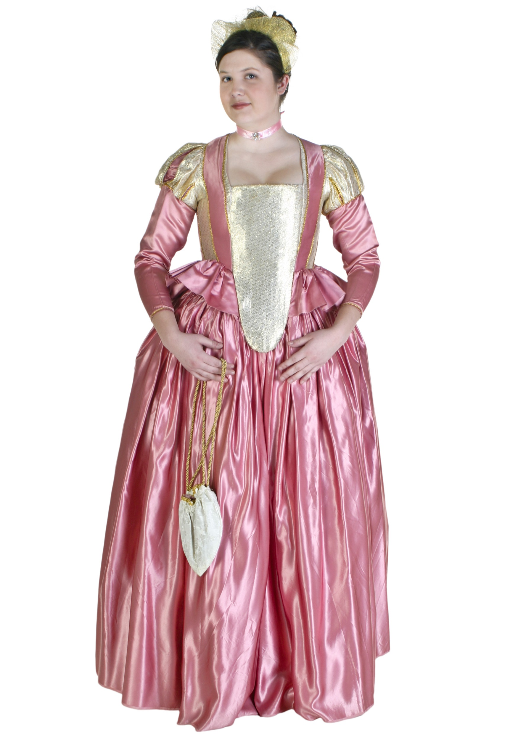 Elizabethan Gown Costume - Queen Elizabeth Costumes