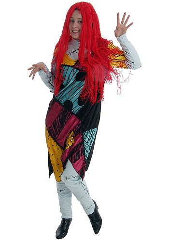 nightmare before christmas sally costume - Sally Nightmare Before Christmas Wig
