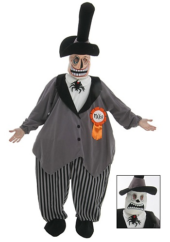 The Nightmare Before Christmas Mayor Costume - Classic Adult Costumes