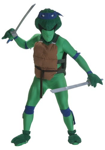 Blue Fighting Turtles Costume