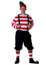 Men's Christmas Elf Costume