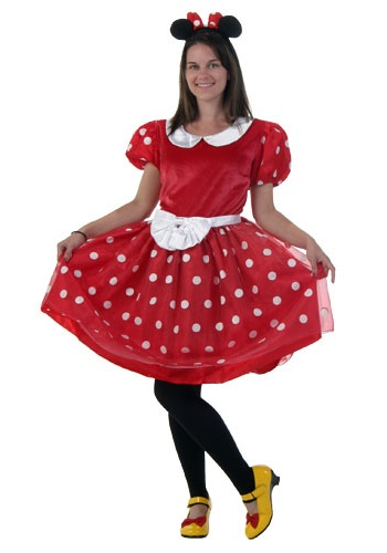 minnie mouse costume for adults plus size images galleries with a bite. Black Bedroom Furniture Sets. Home Design Ideas
