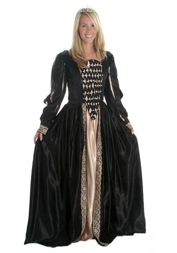 Black Elizabethan Royalty Gown