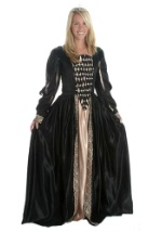 Black Elizabethan Royalty Gown