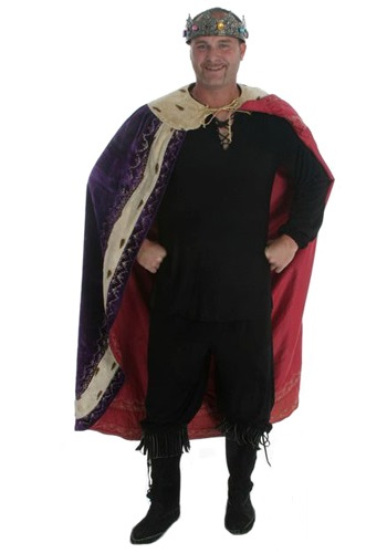 Purple Cape King Costume