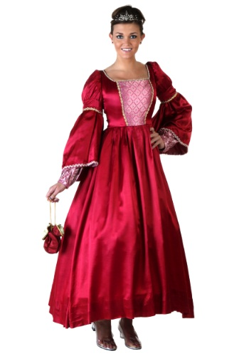 Rose Renaissance Gown Costume
