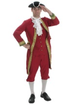 Men's Adult Colonial Costume