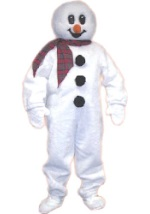 Frosty Snow Man Mascot