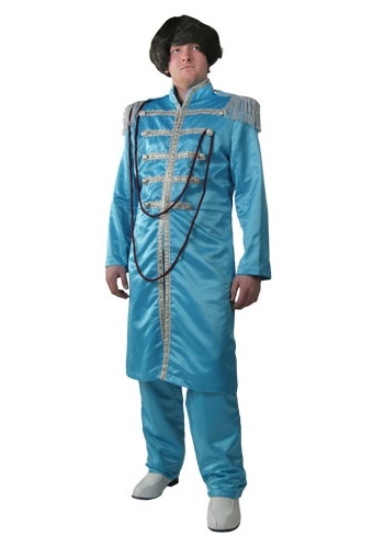 Blue 60's Band Member Costume