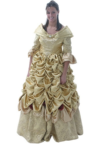 Adult Belle Formal Disney Costume  sc 1 st  Costumes Galore & Deluxe Belle Formal Disney Costume - Beauty and the Beast Costume Rental