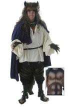 Adult Deluxe Beast Costume