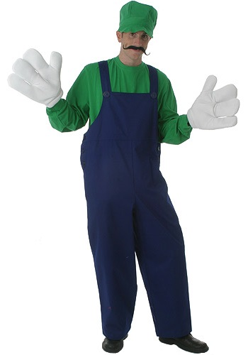 Adult Green Plumber Costume